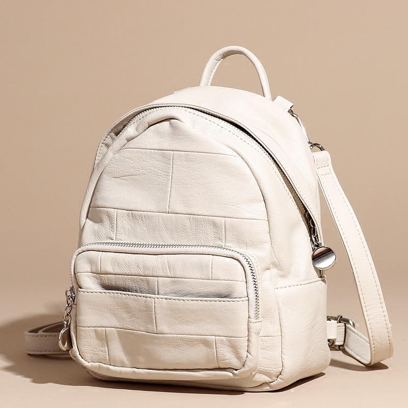 Double shoulder bag women 2020 new Korean spring and summer single shoulder small bag versatile fashion small fresh Mini Backpack