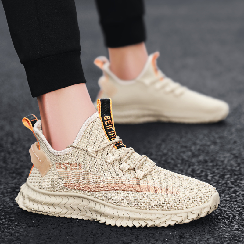 Summer breathable mesh shoes sports casual couple dad board shoes all kinds of small white trendy shoes ins running men and women
