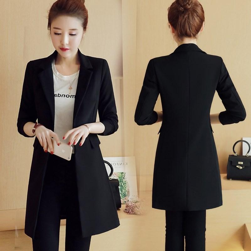 起宾2019开春初春新款女装ins韩版气质西装小外套搭配145cm150矮