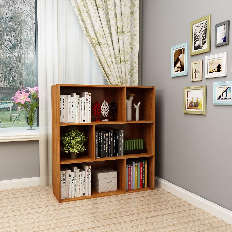 拼装简易学生书架自由组合矮柜限10000张券