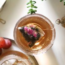 减轻茶玫瑰花茶荷叶茶油切黑乌龙花茶组合独立茶包袋泡茶茶叶CBN
