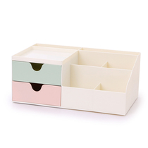 Pen holder storage Box Desktop Cute multifunctional large capacity teen Heart desk student stationery creative fashion decoration