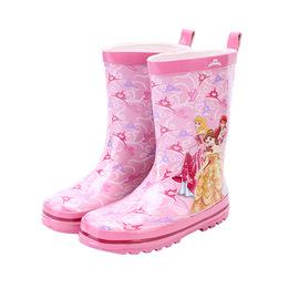 公主儿童雨鞋中大童男童雨靴小学生女童宝宝女孩防滑保暖橡胶水鞋