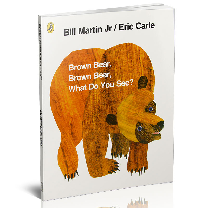 【中图原版】BrownBear, BrownBear, What DoYouSee? 40thAnniversaryEdition, Paperback 棕熊、棕熊,你看到了什么?(英国版)