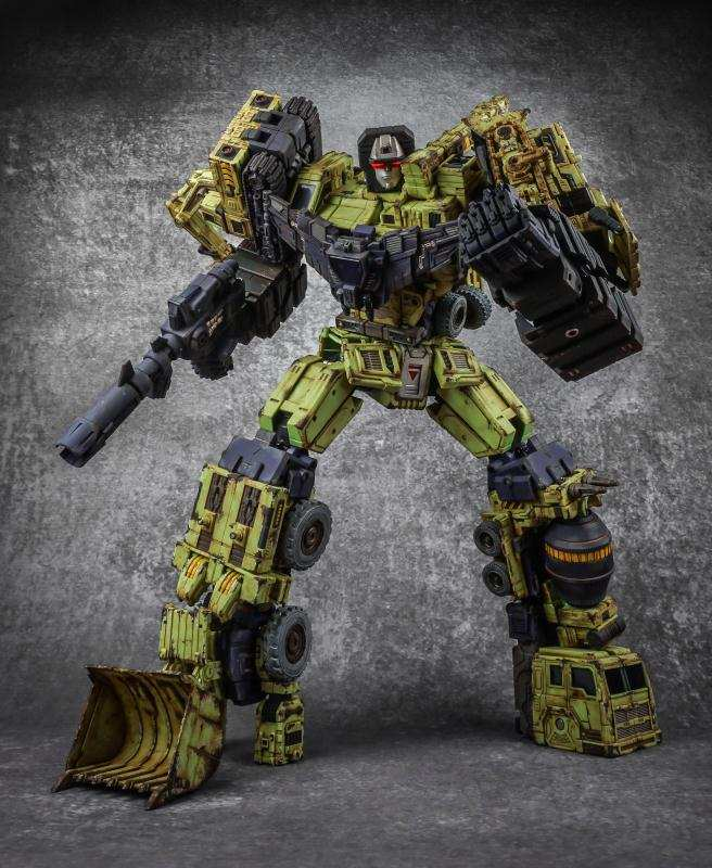Toyworld tw-c07g original color old Hercules and damaged color deformation toy King Kong Decepticon combination