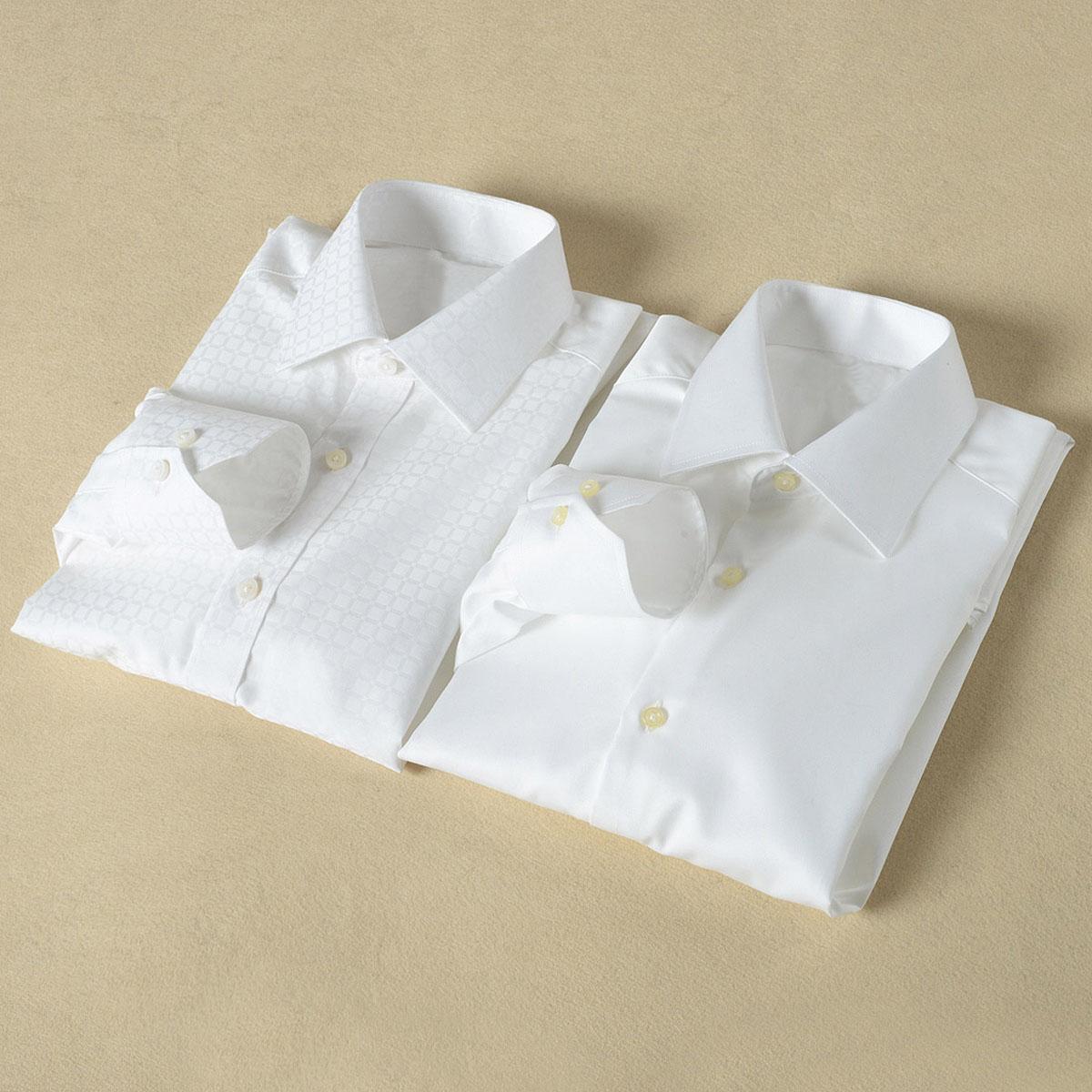 High grade shirt high count long staple cotton jacquard fabric mens business leisure slim long sleeve shirt mens parcel mail