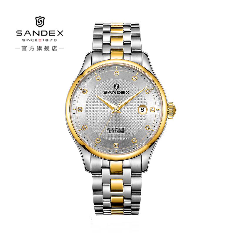 Sandex Swiss original 18K gold watch fully automatic mechanical mens watch and mens watch mechanical watch