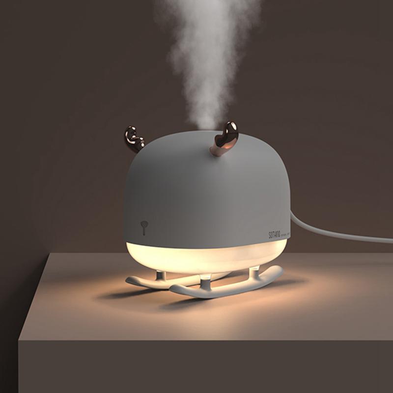 生日礼物加湿器带暖光夜灯办公室