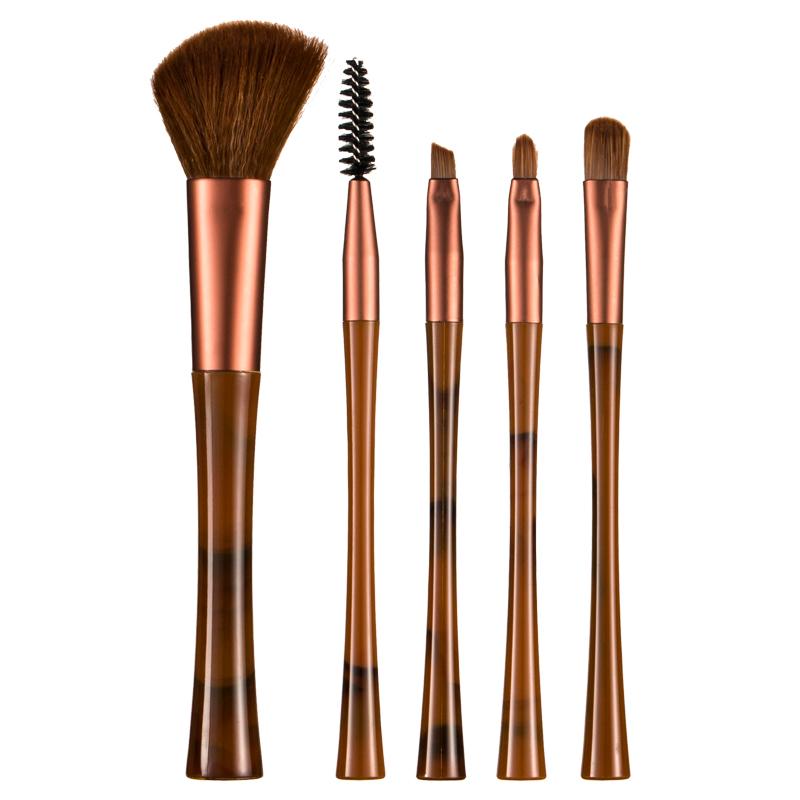 OTW颜美5支美容化妆刷眼影刷腮红刷定妆修容刷初学者彩妆工具套装