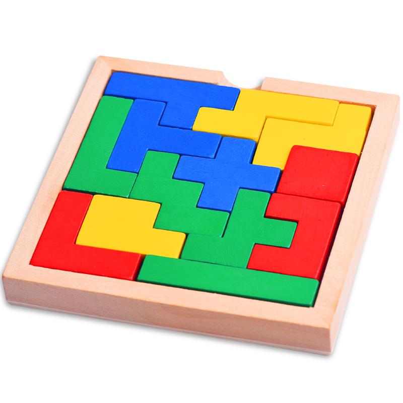 古典益智玩具傷腦筋十三塊魯班鎖孔明鎖 玩具立體積木拚圖
