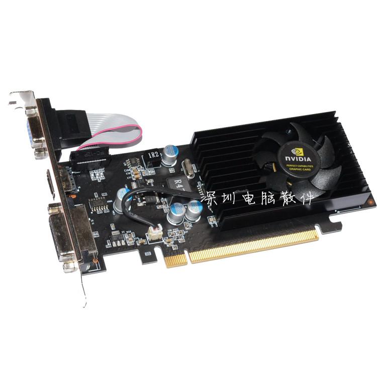 全新原装GT210 1G双屏高清惠普联想小机箱显卡半高刀卡PCI-E显卡