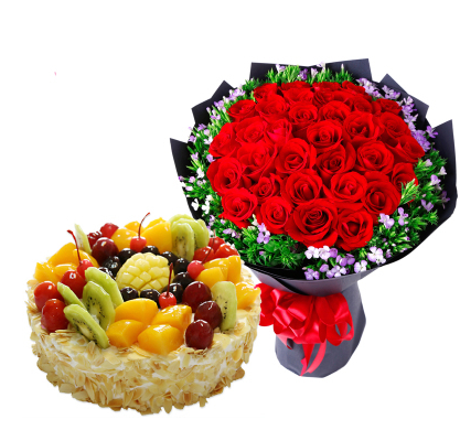 Naidong District Gongga County SANGRI County Jiacha County Langka County cake shop Distribution birthday cake flower shop rose
