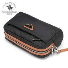 Saint Paul handbag men's casual handbag zipper long mobile phone bag Oxford canvas large capacity Korean fashion bag
