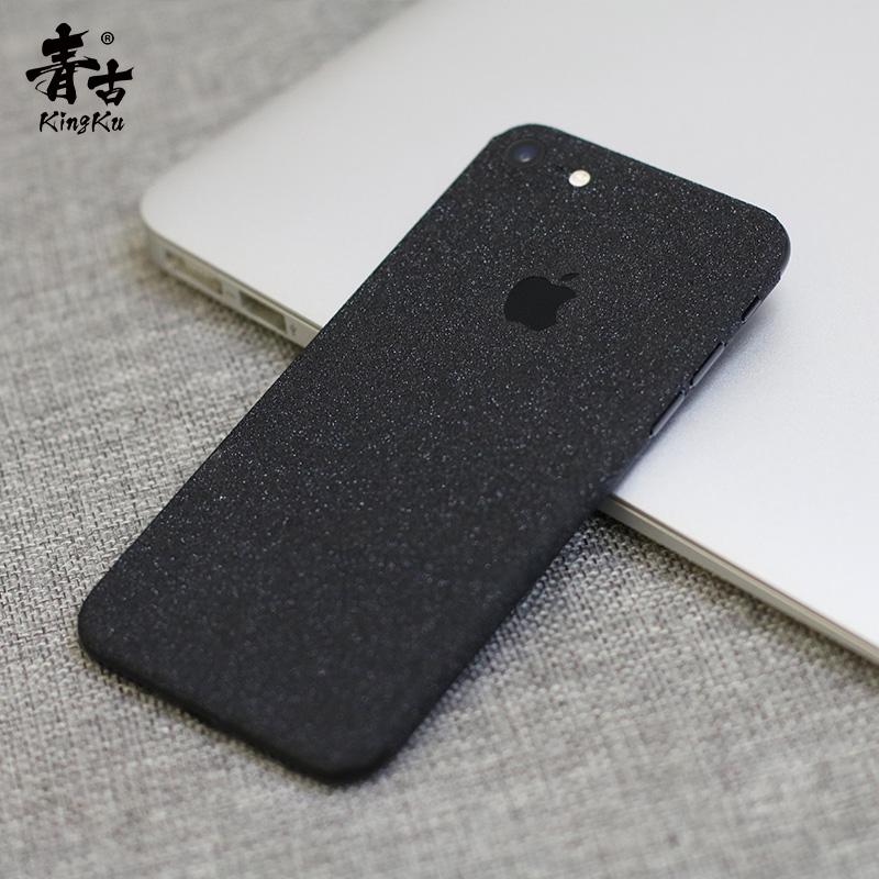 iPhone7plus 贴膜磨砂全身膜背贴苹果8手机贴纸iphone X改色彩