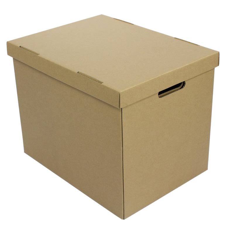 財務會計憑證整理盒收納箱原色紙箱子文件盒資料檔案多尺寸包郵