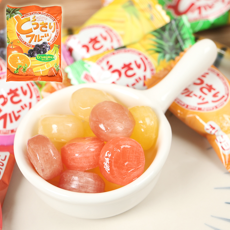 Malaysia imported Zero food Kekang brand multi flavor juice sugar water fructose hard candy wedding candy 140g