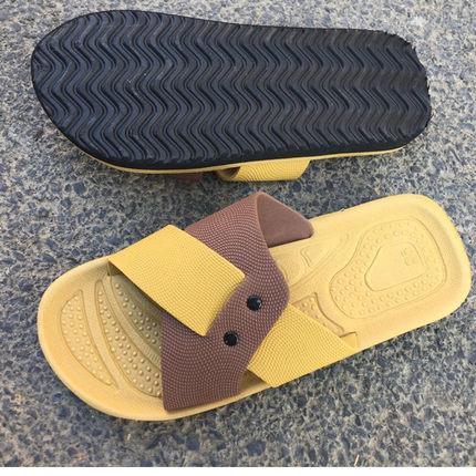 夏季男式拖鞋居家浴室防滑泡沫底拖鞋EVA泡沫底拖鞋夏天拖鞋男士
