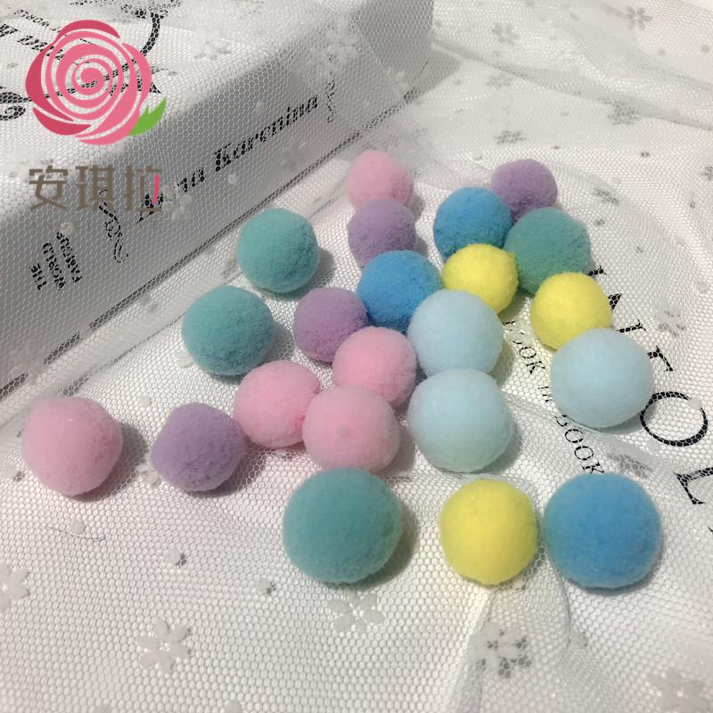 永生花材玫瑰玻璃罩毛绒球diy手工材料包礼盒代加工创意生日礼物