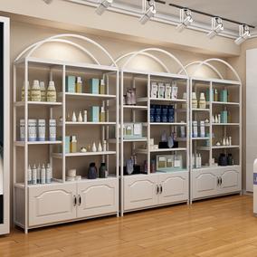 化妆品展示柜隔断组合美容院置物架