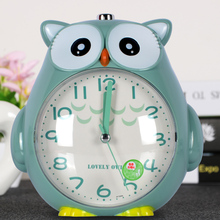 Children's Alarm Clock Cartoons Can Talk Creative Students Use Lovely Personality Lazy Special Nightlight Silent Bedside Boys