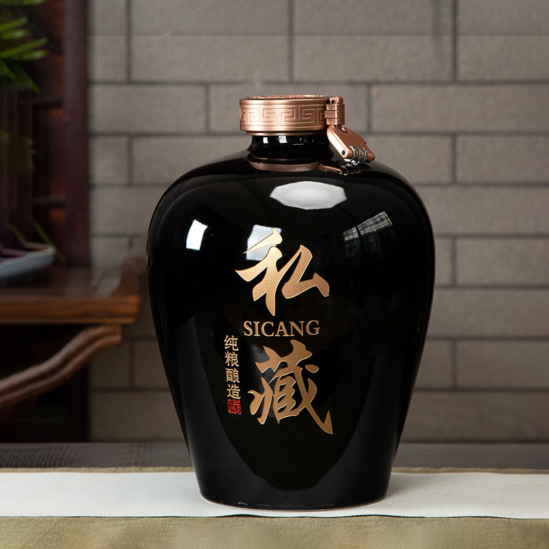 Jingdezhen ceramic wine jar household Sealed 3 / 5 / 10 / 20 / 30 / 50 / 100jin wine bottle