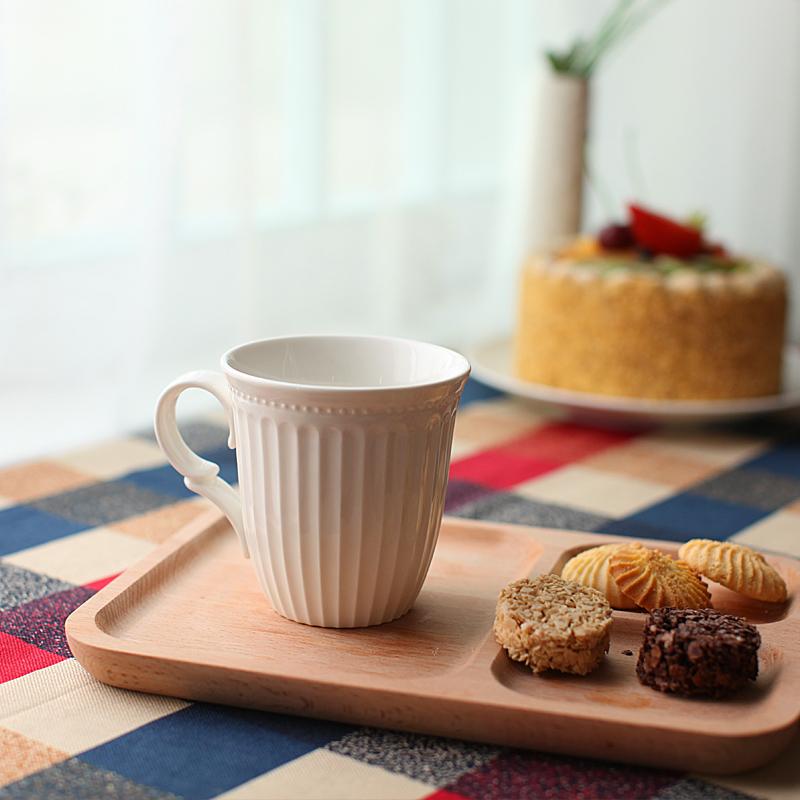 景德鎮陶瓷器歐式 餐具骨瓷純白餐具套裝碗碟套裝盤子結婚