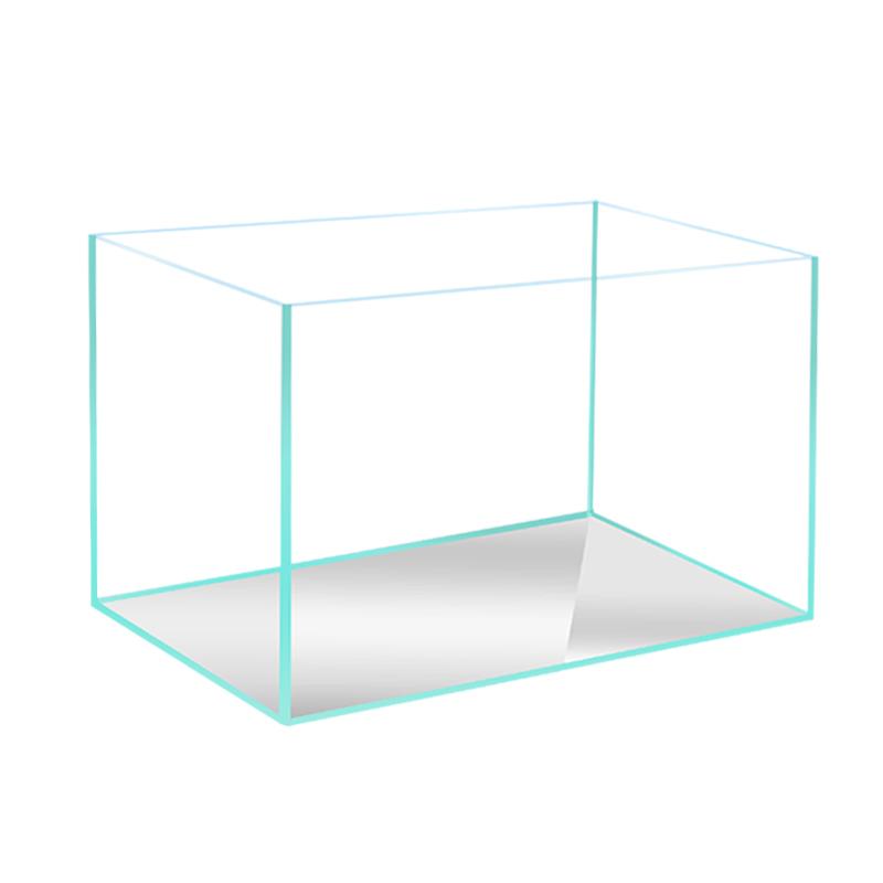 超白魚缸玻璃水草觀賞迷你 烏龜缸生態造景中小型水族箱定製做