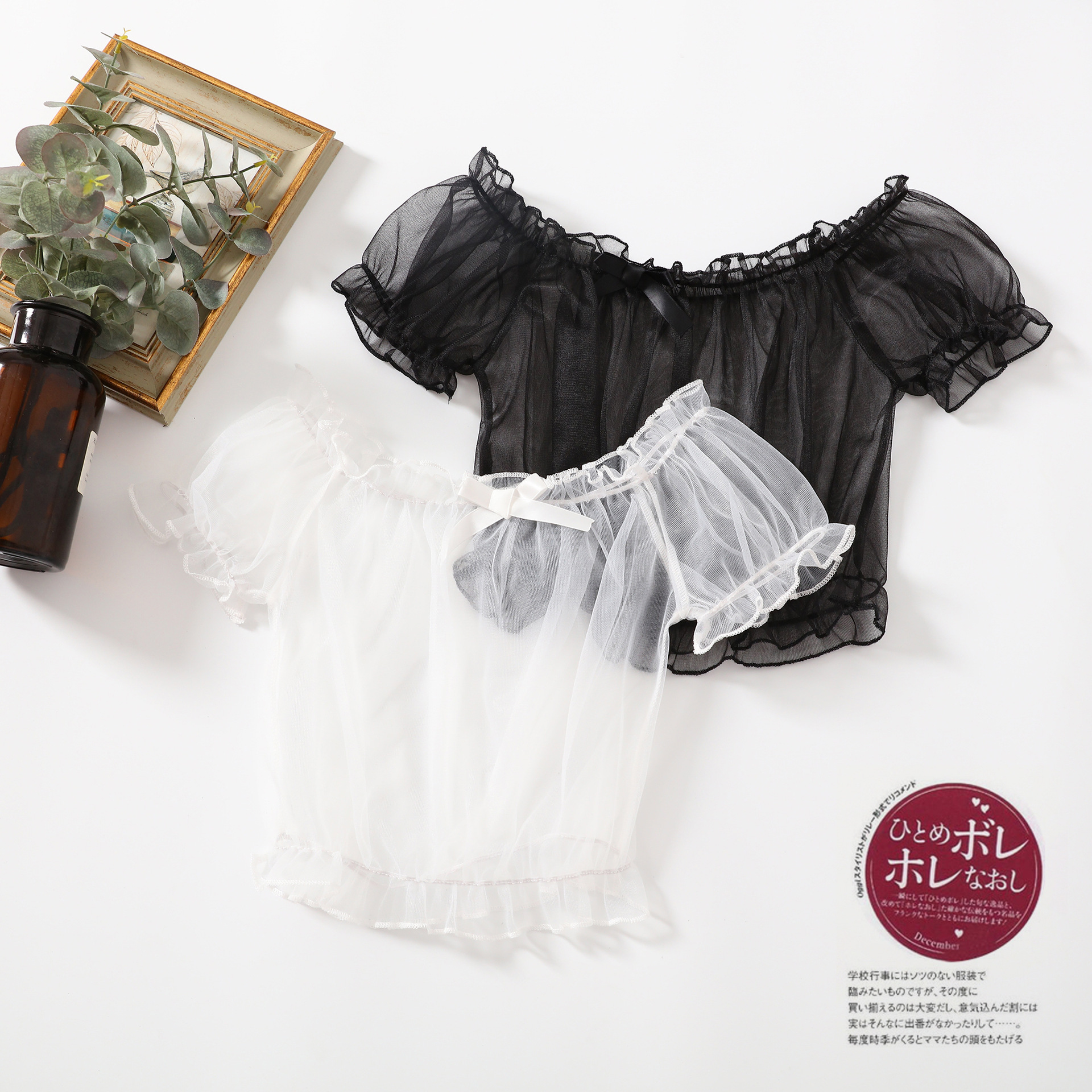 Japanese Lolita with light, thin and lovely summer soft girl bottom coat baby girl top lace shirt