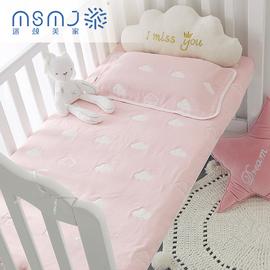 婴儿床床单儿童六层纱布床单单件宝宝纯棉加厚被单春夏秋冬幼儿园
