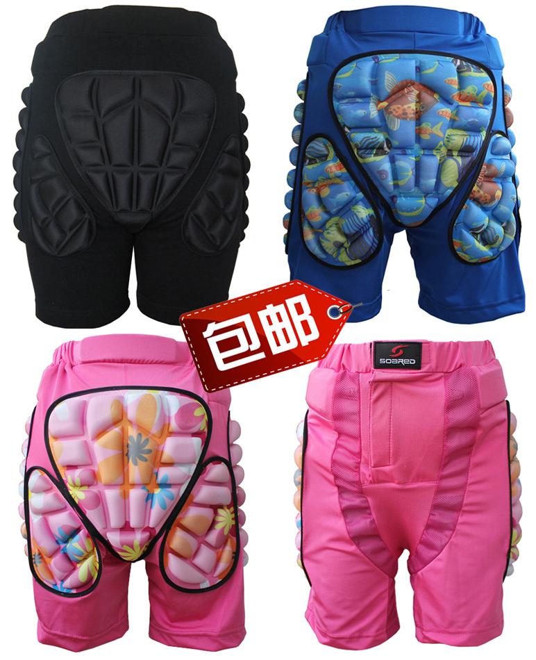 包邮厂价促销精品滑雪护臀/轮滑护臀/滑冰护臀成人儿童防摔裤加厚