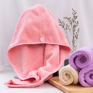 干发帽女吸水包头巾长短发速干毛巾