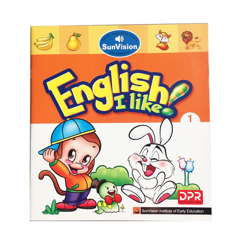 《幼儿启蒙英语》有声图书阳光视界点读笔早教专用图书