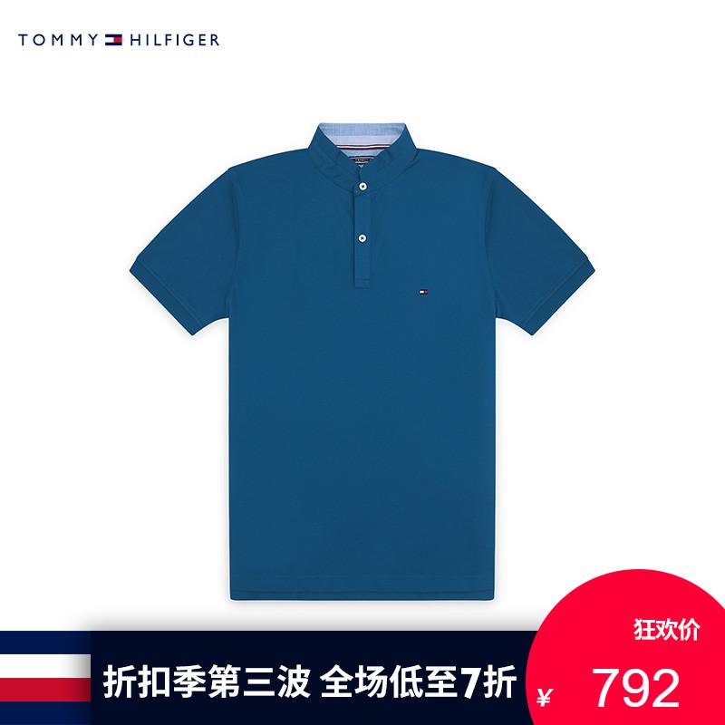 TOMMY HILFIGER男�b2018夏季短袖POLO衫-MW0MW07039OU