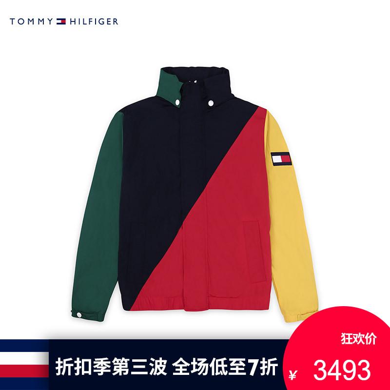 【走秀款】TOMMY HILFIGER男装2018春夏 潮流单夹克-MW0MW04946OP