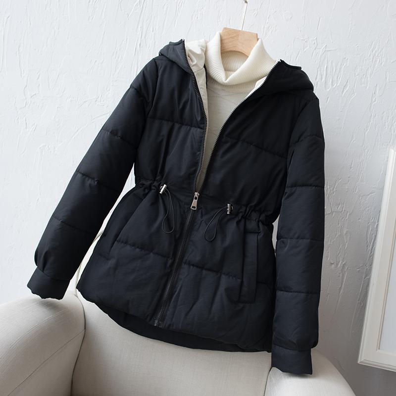 新款棉服女短款冬装韩版学生宽松连帽小棉袄外套加厚保暖羽绒棉衣