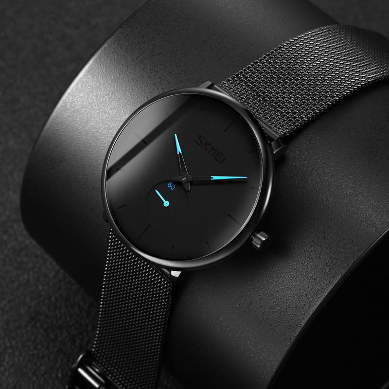 男士手表2019新款瑞士虫洞新概念超薄手表男学生高中潮流机械防水