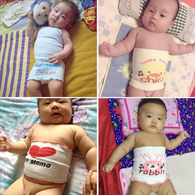 3条装婴儿护肚子神器纯棉肚围新生儿肚兜夏秋冬宝宝护肚脐围保暖
