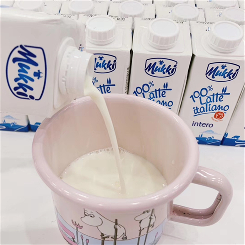 (new date) mukki milk imported from Italy
