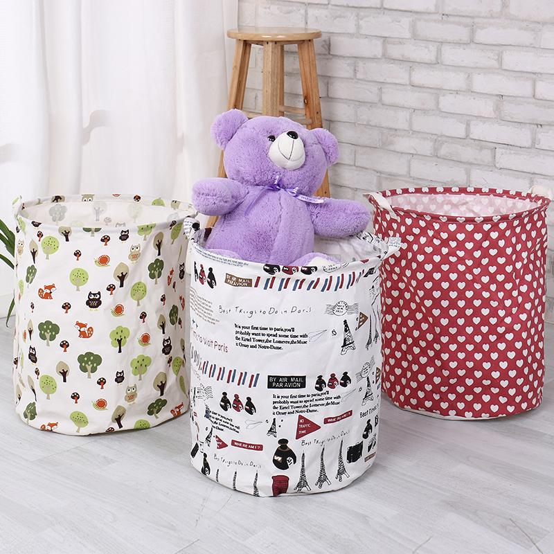 可折疊式髒衣籃髒衣簍大號防水敞口衣服玩具收納浴室衣桶雜物包郵