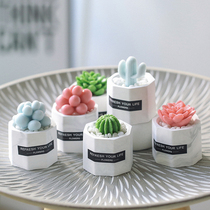 DIY Creative Handmade small gifts cute personality multi-meat plant Type Soap mini styling gift box hand-washing decoration