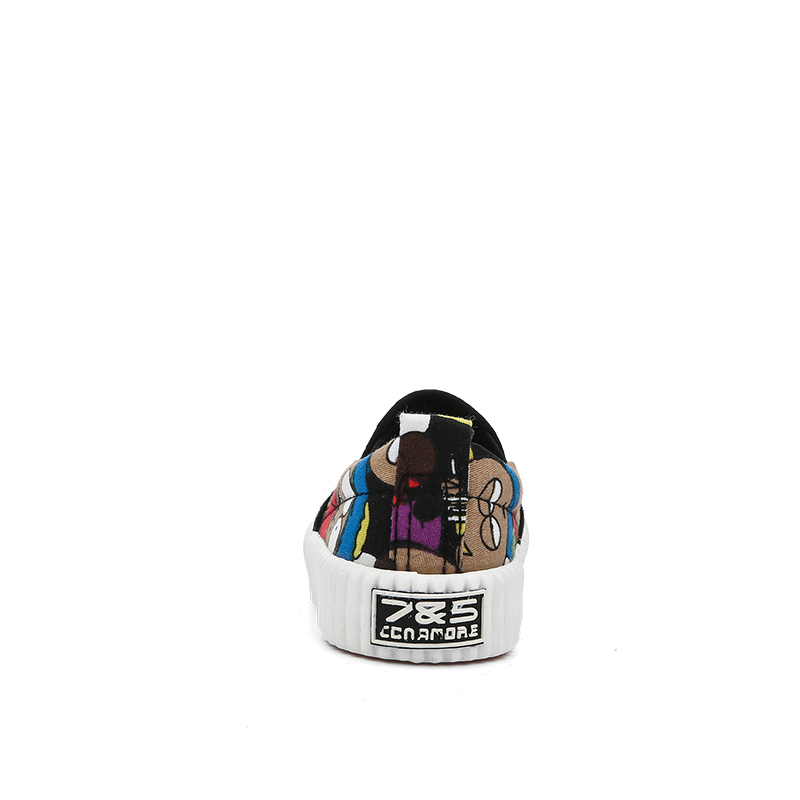 Baskets enfants en toile 7&AMP5 suture de voiture pour printemps - semelle caoutchouc antidérapant - Ref 1033149 Image 3