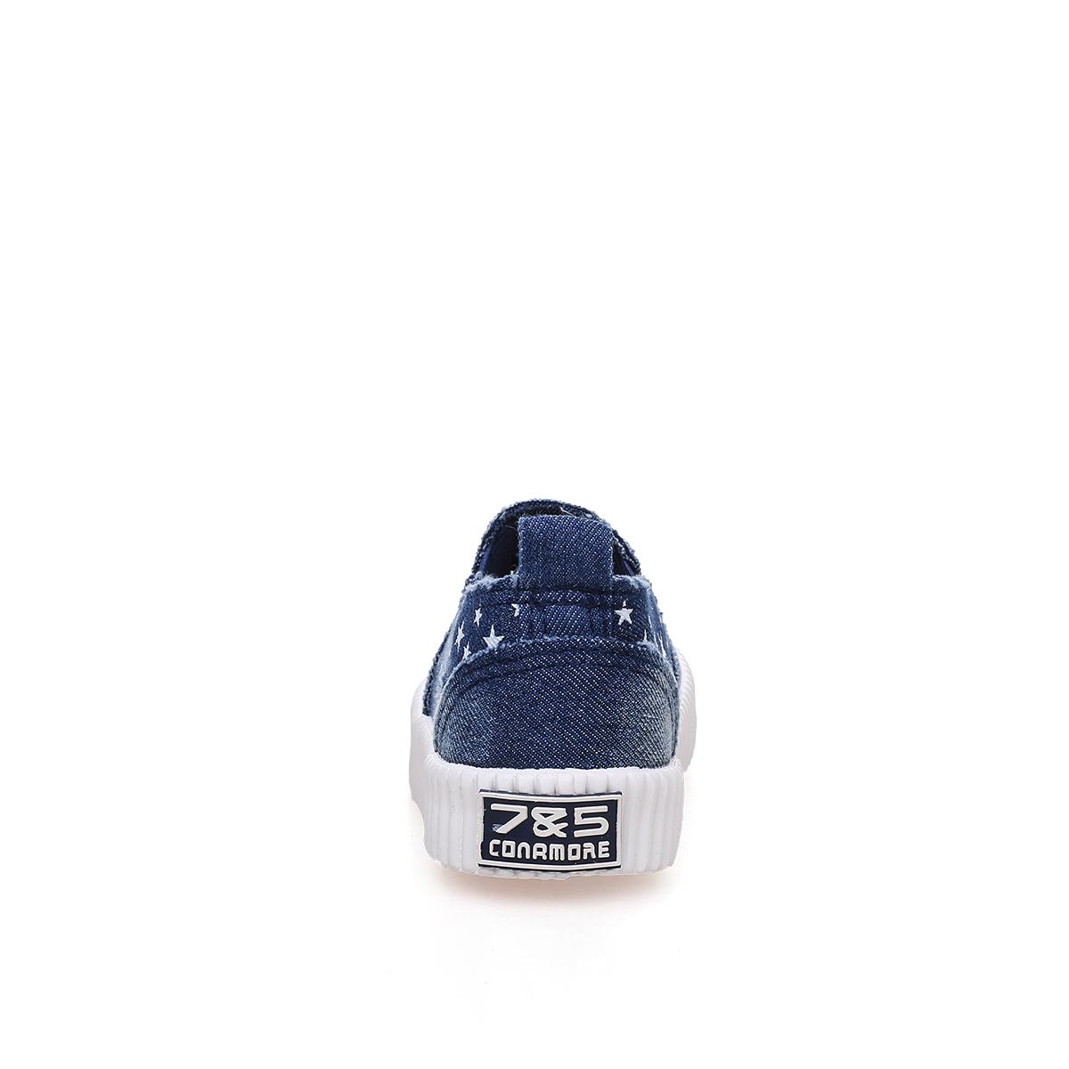 Baskets enfants en toile 7&AMP5 suture de voiture pour printemps - semelle caoutchouc antidérapant - Ref 1033167 Image 3