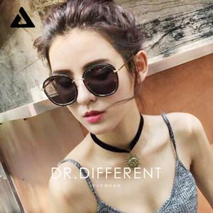 帝迪偏光太阳镜女潮2017网红明星款韩国个性墨镜圆脸新款近视眼镜