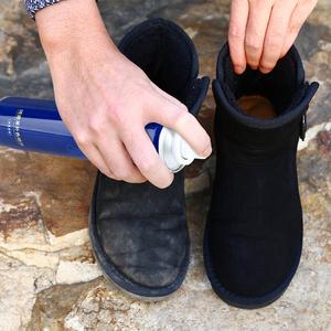 翻毛皮鞋清洁护理磨砂鞋粉绒面打理液黑色通用反绒麂皮补色剂神器