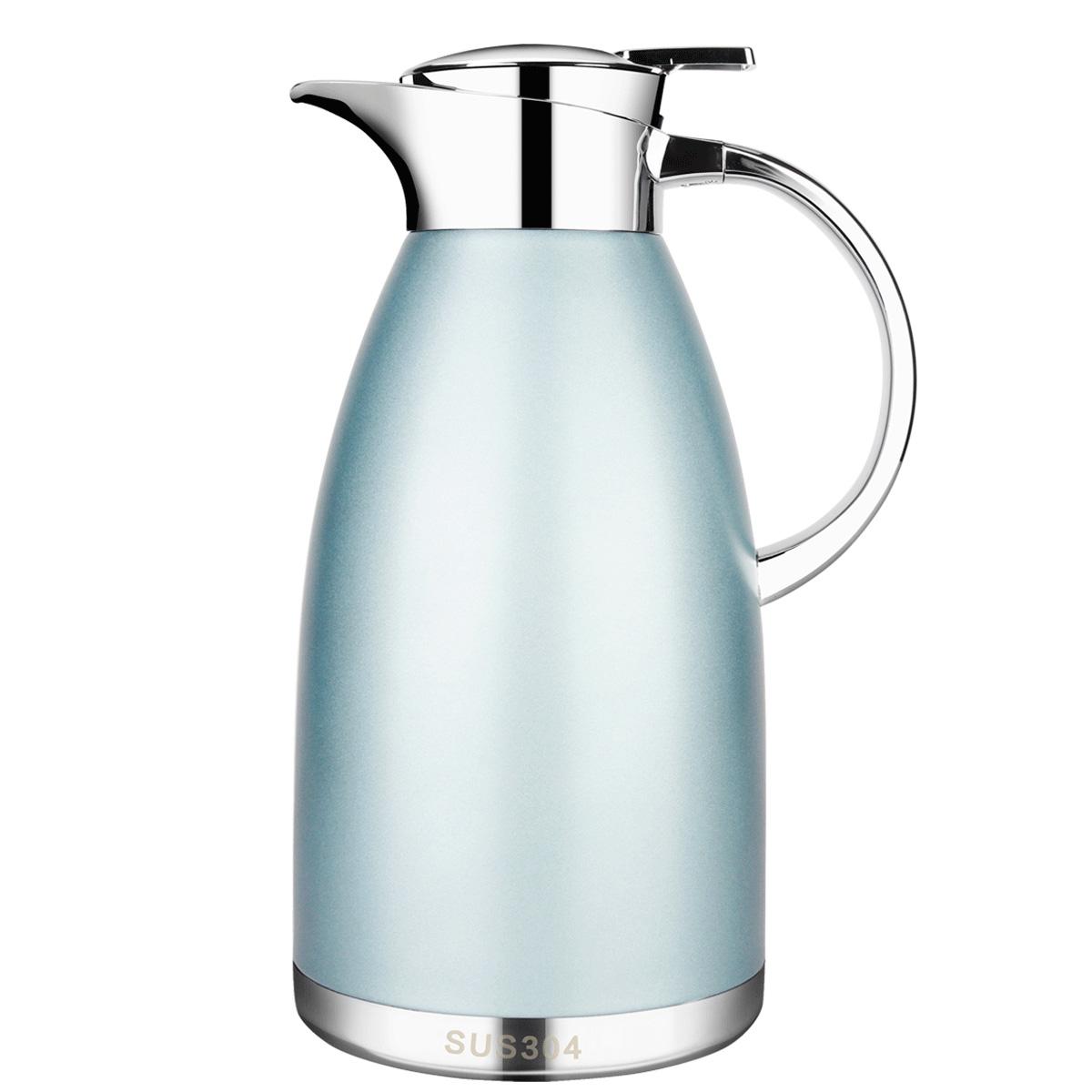 5CD保温壶家用保温瓶304不锈钢大容量户外欧式热水瓶杯暖水壶,可领取15元天猫优惠券