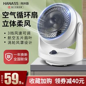 领60元券购买海纳斯空气循环电风扇落地家用台扇