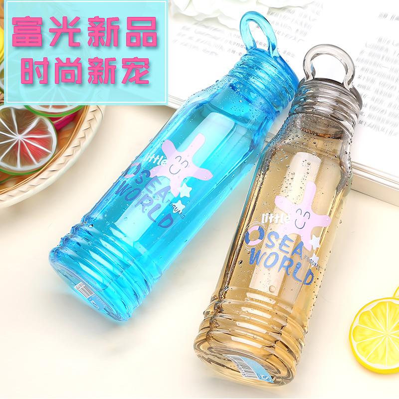 富光太空杯 創意便攜學生塑料水杯兒童防漏隨手杯運動水壺杯子大