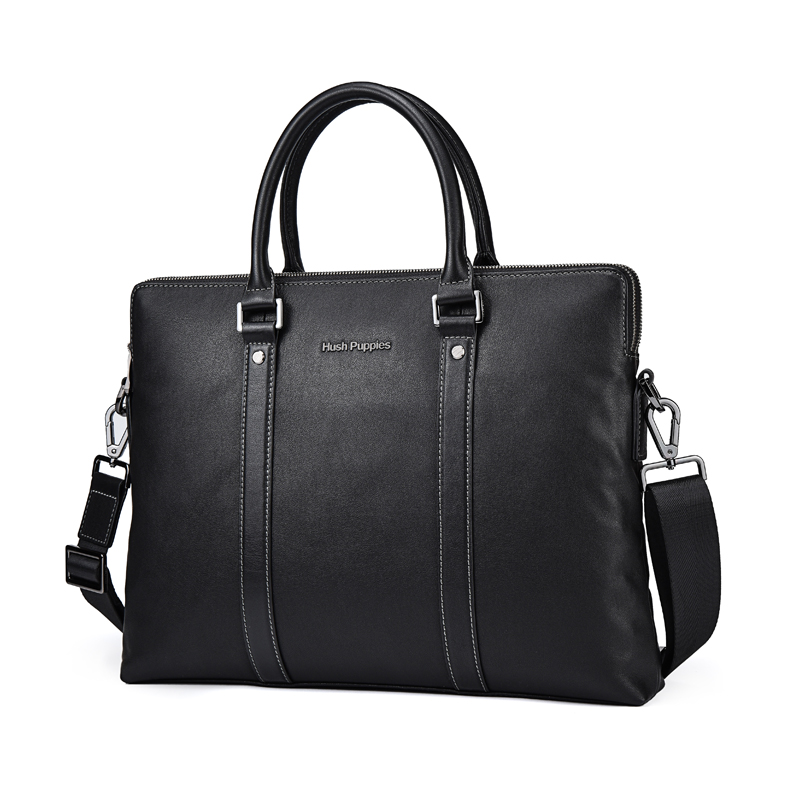 Husbands Briefcase One Shoulder Crossing Handbag Male Genuine Leather Handbag Male Business Bag Computer Bag Male Bag