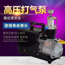 High pressure inflatable pump 30MPA small cylinder special high-pressure pumping machine electric high-pressure air pump single-tank water cooling