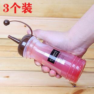 塑料挤酱瓶沙拉瓶果酱瓶调料瓶番茄酱瓶挤压瓶小油壶醋壶蜂蜜瓶大